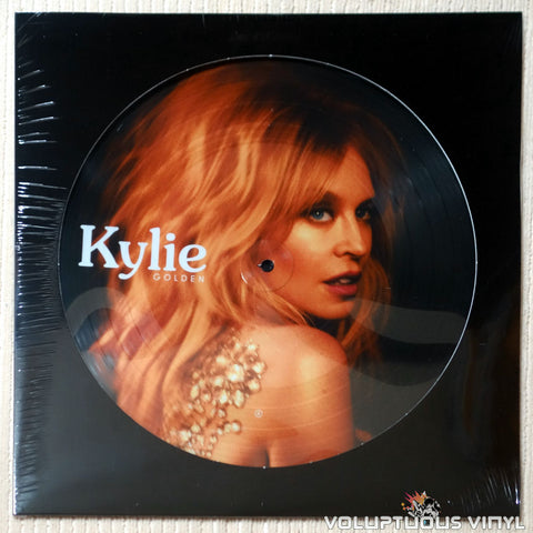 Kylie Minogue ‎– Golden (2018) SEALED Picture Disc, Ltd Print, UK Press
