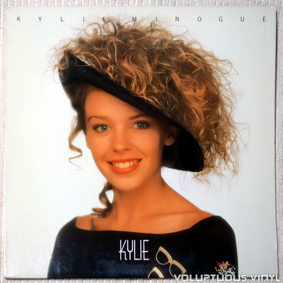 Kylie Minogue ‎– Kylie vinyl record front cover