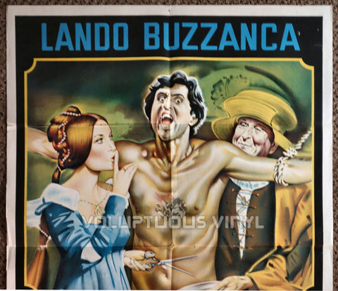 La calandria 1972 Argentinean 1-Sheet Barbara Bouchet Movie Poster Top Half