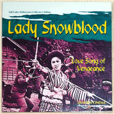 Lady Snowblood 2: Love Song of Vengeance - Laserdisc - Front Cover