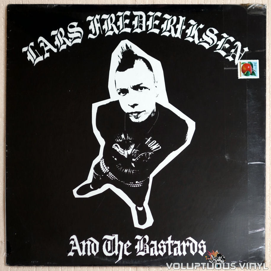 Lars Frederiksen And The Bastards ‎– Lars Frederiksen And The Bastards - Vinyl Record - Front Cover