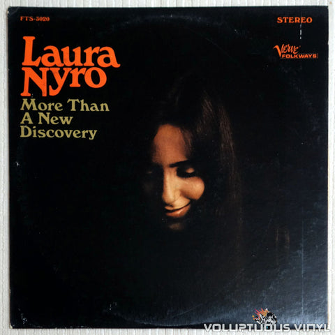 Laura Nyro ‎– More Than A New Discovery - Vinyl Record - Front Cover