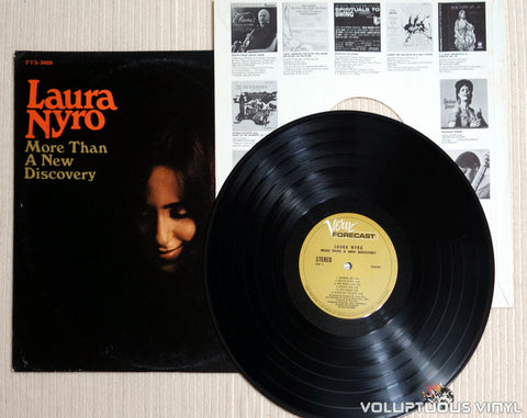 Laura Nyro ‎– More Than A New Discovery - Vinyl Record