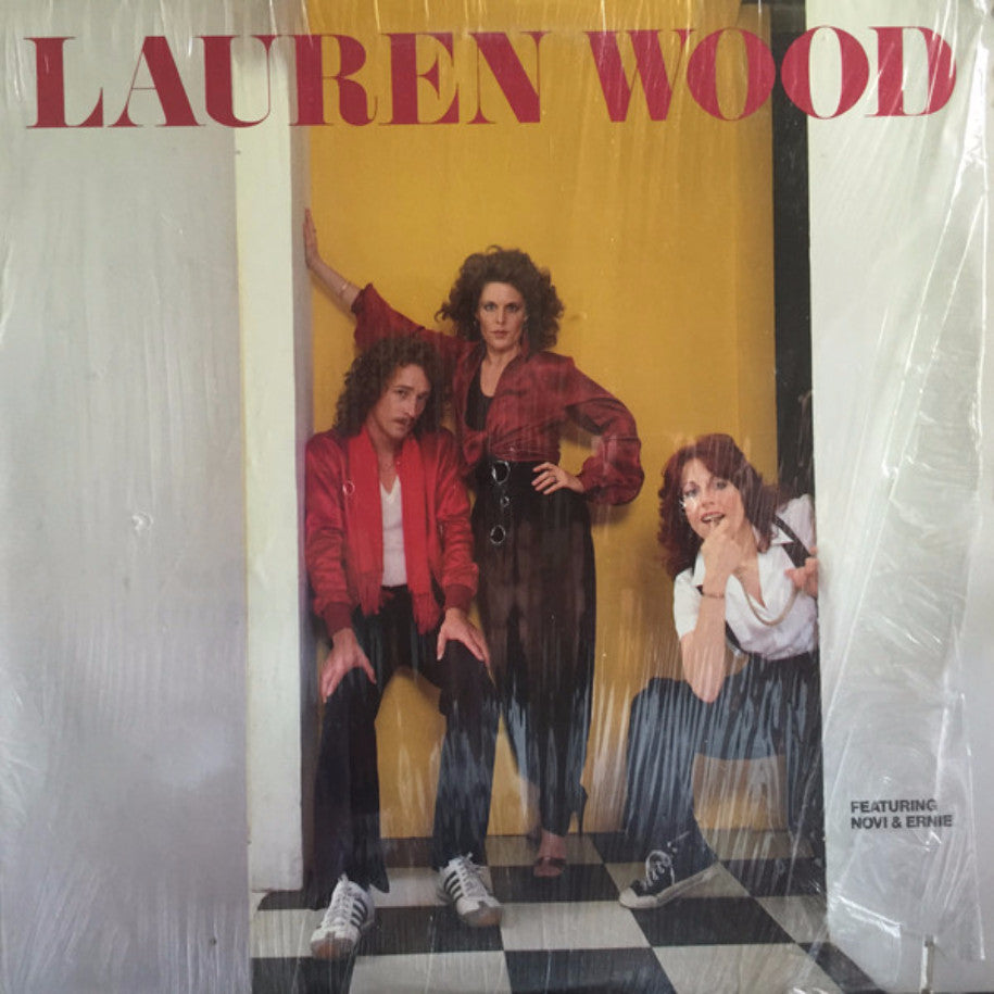 Lauren Wood Featuring Novi & Ernie ‎– Lauren Wood - Vinyl Record - Front Cover