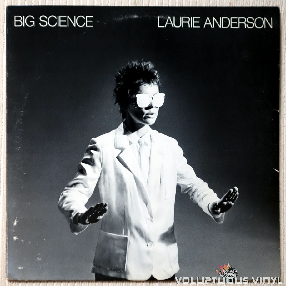 Laurie Anderson ‎– Big Science - Vinyl Record - Front Cover