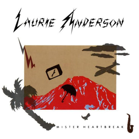 Laurie Anderson ‎– Mister Heartbreak vinyl record front cover