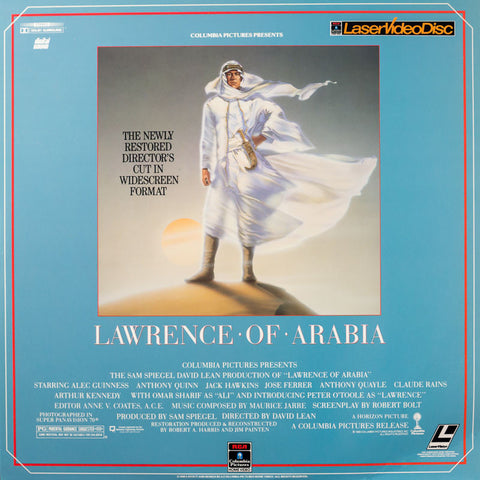 Lawrence of Arabia (1962) LaserDisc