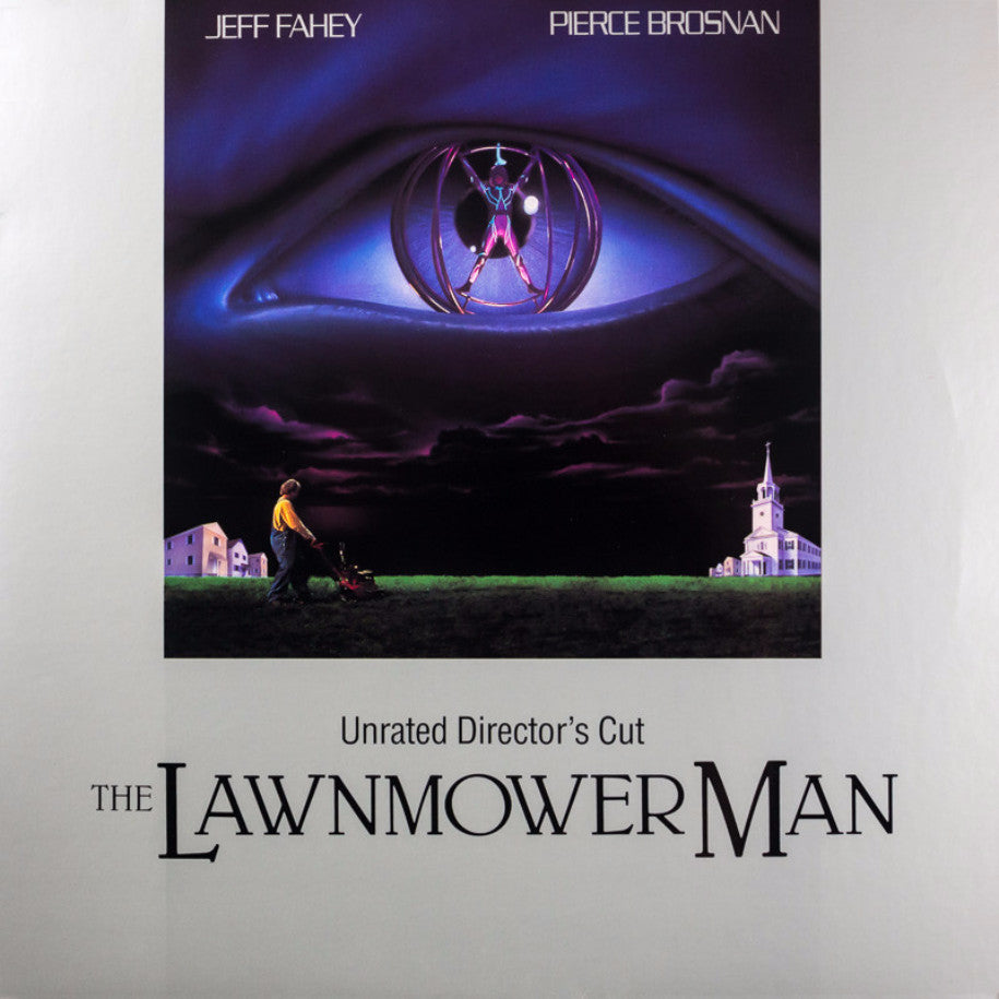 Lawnmower Man, The - LaserDisc - Front Cover