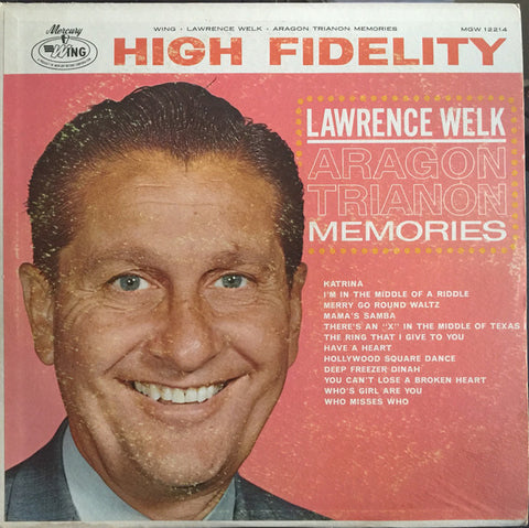 Lawrence Welk ‎– Aragon Trianon Memories Cheap Vinyl Record