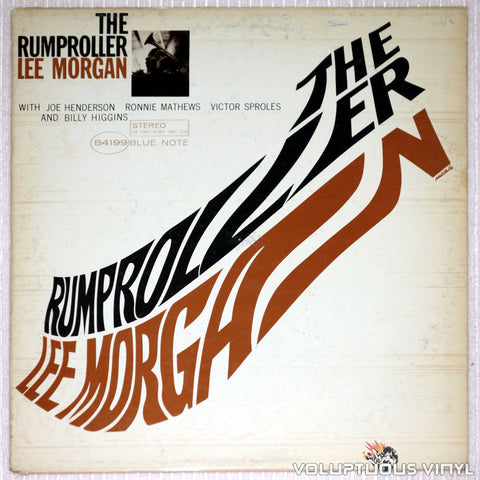 Lee Morgan ‎– The Rumproller - Vinyl Record - Front Cover