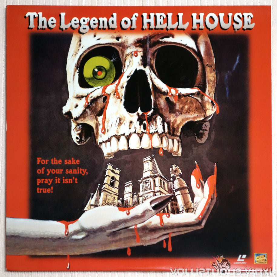 The Legend of Hell House - Laserdisc - Front Cover