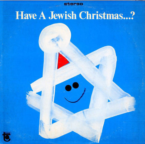 Lennie Weinrib ‎– Have A Jewish Christmas...? (1967) STEREO Vinyl Record