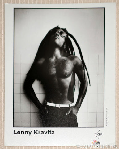 Lenny Kravitz - Virgin Records - 1995 Promotional Photo