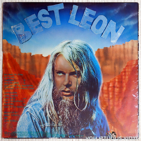 Leon Russell ‎– Best Of Leon - Vinyl Record - Back Cover
