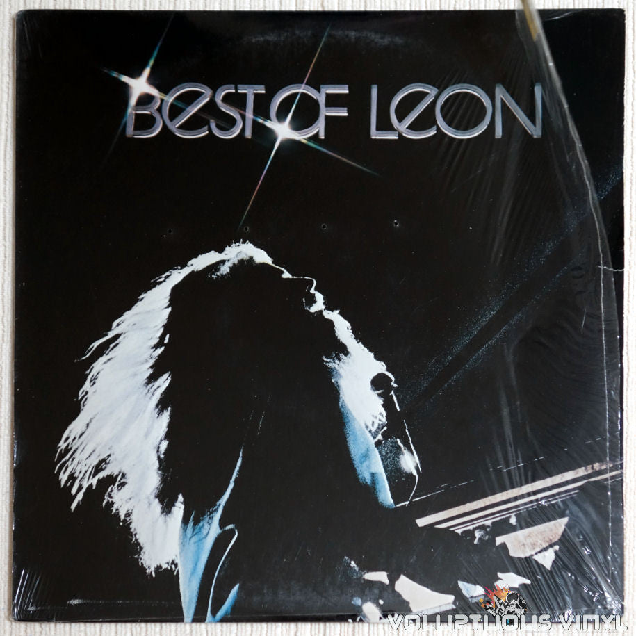 Leon Russell ‎– Best Of Leon - Vinyl Record - Front Cover