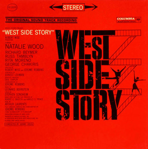 Leonard Bernstein ‎– West Side Story (Original Sound Track Recording) (1963) Cheap Vinyl Record