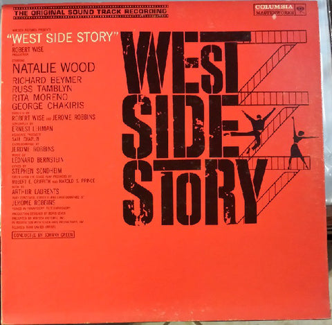Leonard Bernstein ‎– West Side Story (Original Sound Track Recording) (1961) Cheap Vinyl Record