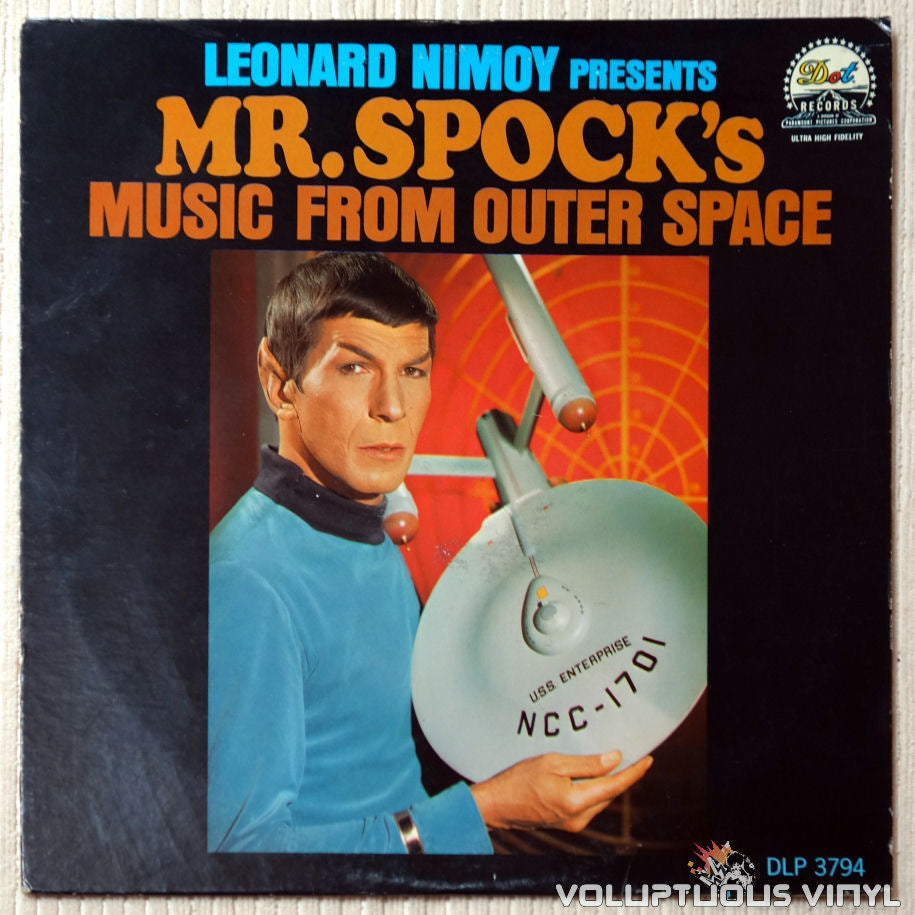 Leonard Nimoy ‎– Presents Mr. Spock's Music From Outer Space - Vinyl Record - Front Cover