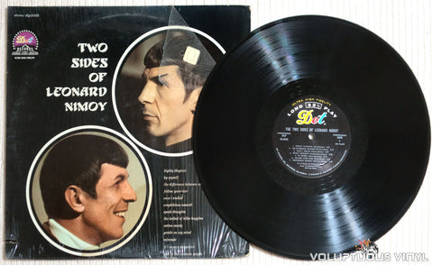 Leonard Nimoy ‎– The Two Sides Of Leonard Nimoy - Vinyl Record