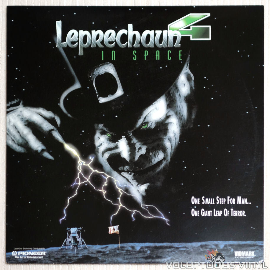 Leprechaun 4: In Space - Laserdisc - Front Cover