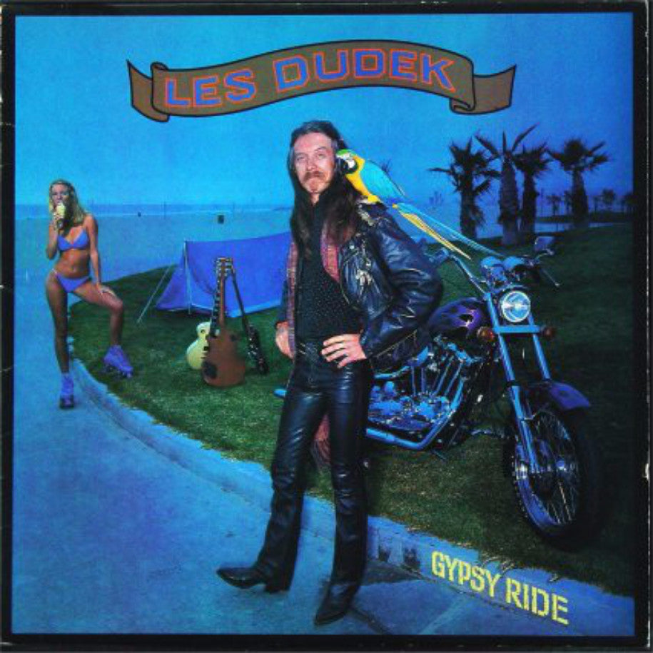 Les Dudek ‎– Gypsy Ride - Vinyl Record - Front Cover