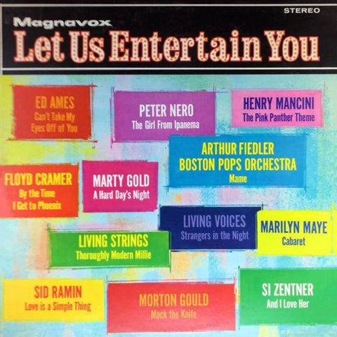 Various ‎– Let Us Entertain You - Vinyl Record