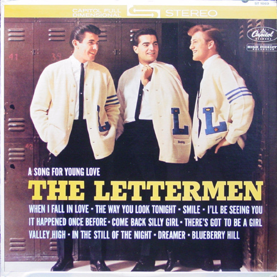 The Lettermen ‎– A Song For Young Love - Vinyl Record - Front Cover