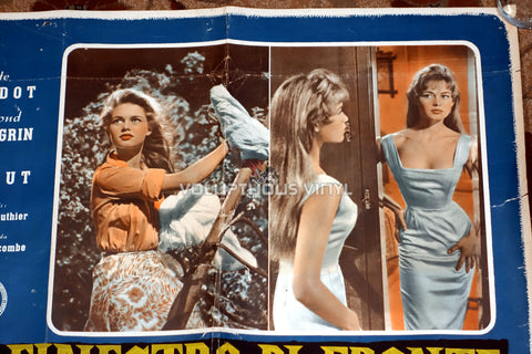 The Light Across The Street [La finestra di fronte] (1957) - Italian Fotobusta - Sexy Brigitte Bardot Poster - Top Right