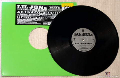 Lil Jon & The East Side Boyz ‎– Get Low (Remix) vinyl record