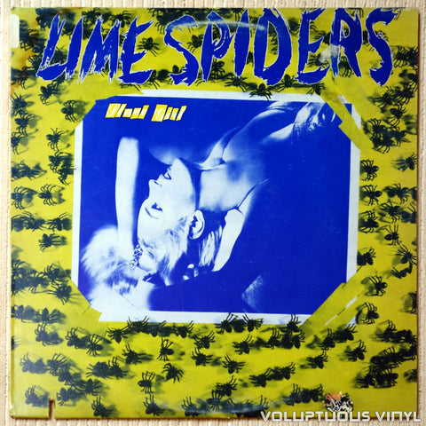 Lime Spiders ‎– Slave Girl - Vinyl Record - Front Cover