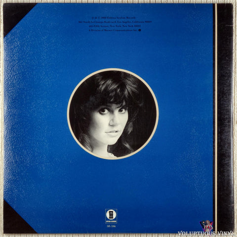 Linda Ronstadt ‎– Greatest Hits Volume Two vinyl record back cover