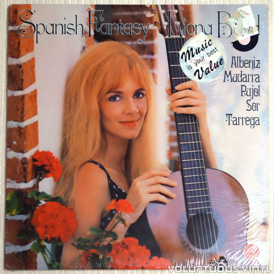 Liona Boyd ‎– Spanish Fantasy - Vinyl Record - Front Cover