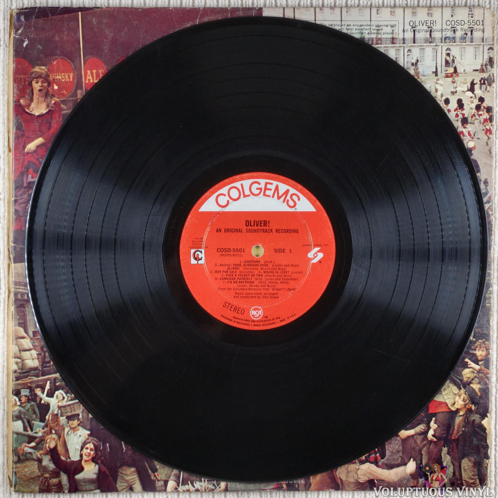 Lionel Bart ‎– Oliver! - Vinyl Record - Front Cover