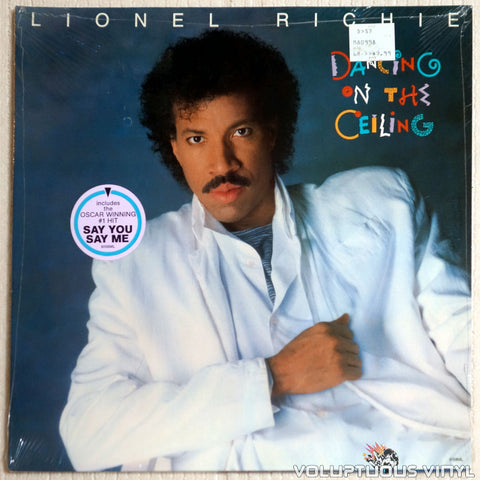 Lionel Richie ‎– Dancing On The Ceiling - Vinyl Record - Front Cover