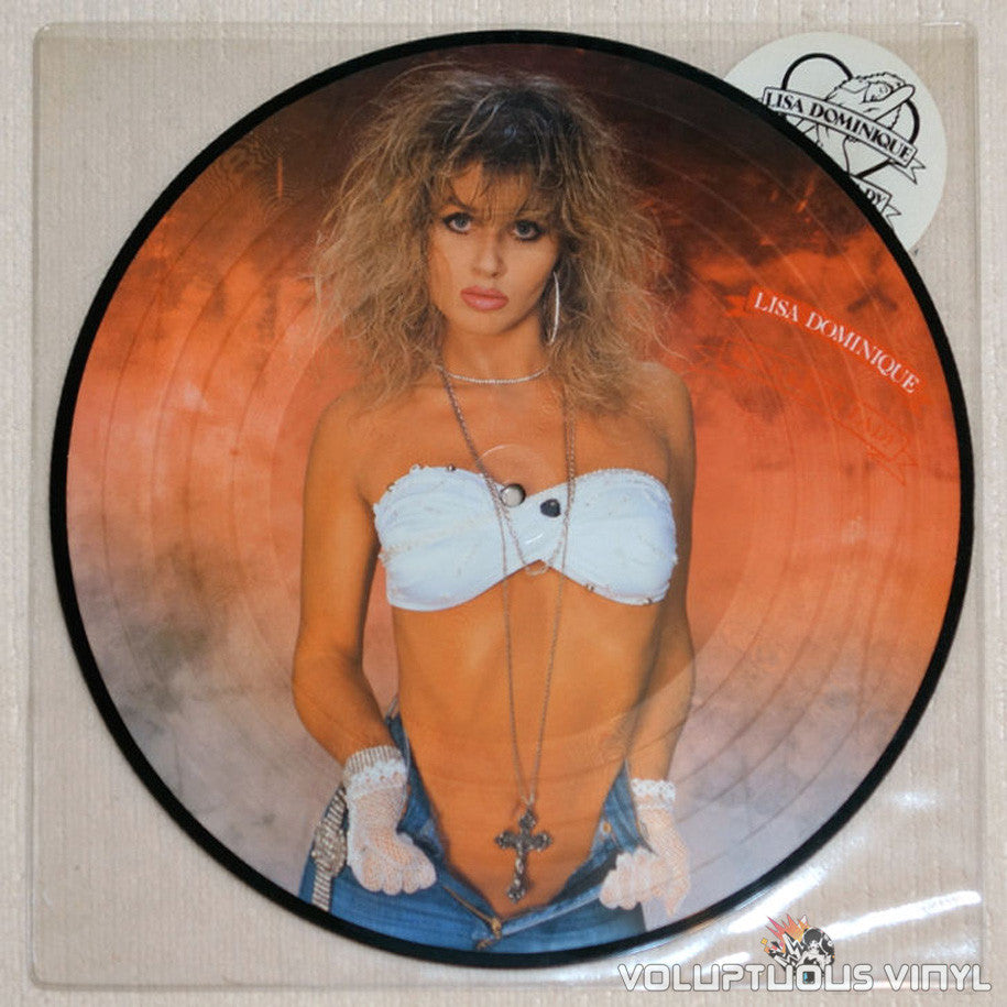 Lisa Dominique ‎Rock 'N' Roll Lady Sexy Vinyl Record Picture Disc