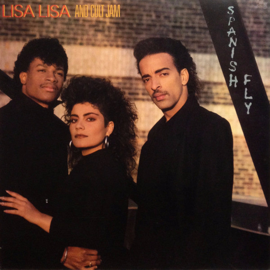 Lisa Lisa & Cult Jam ‎– Spanish Fly - Vinyl Record - Front Cover