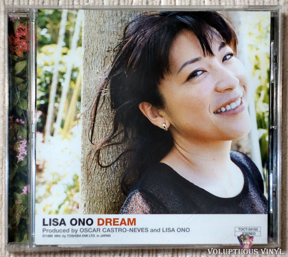 Lisa Ono ‎– Dream CD front cover