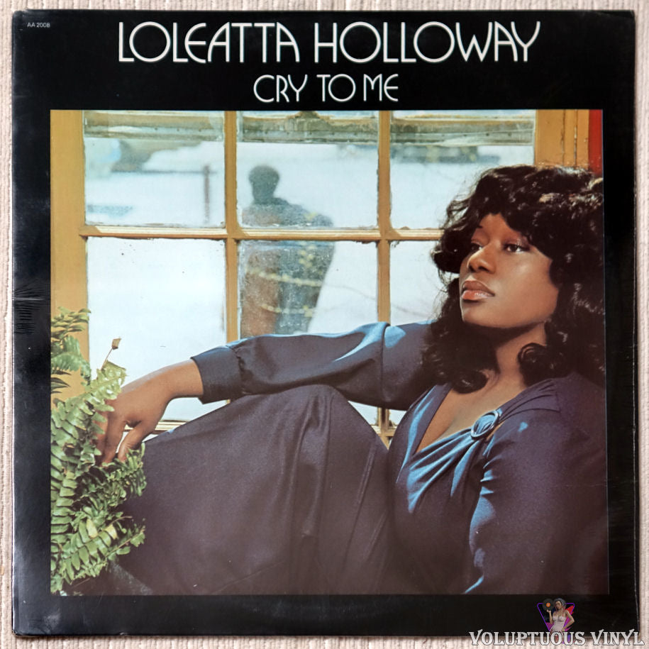 Loleatta Holloway ‎– Cry To Me vinyl record front cover