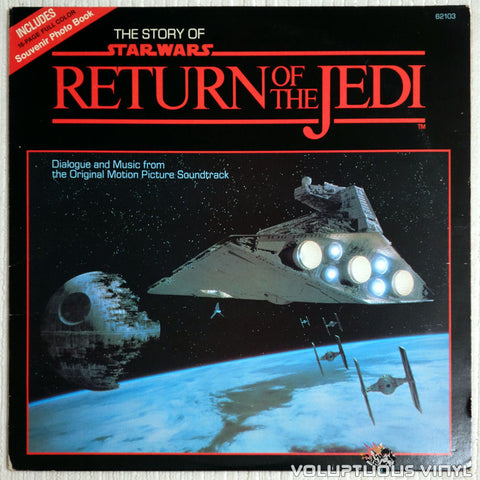 The London Symphony Orchestra ‎– The Story Of Return Of The Jedi - Vinyl Record - Front Cover