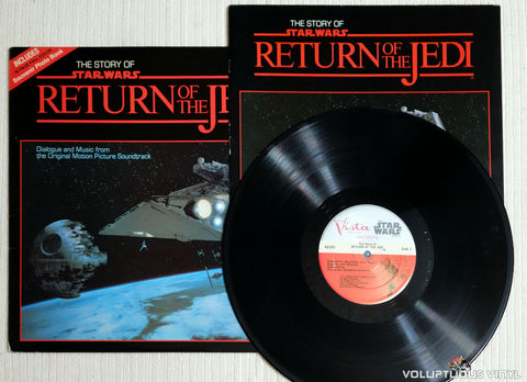 The London Symphony Orchestra ‎– The Story Of Return Of The Jedi - Vinyl Record