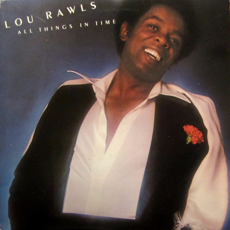 Lou Rawls ‎– All Things In Time - Vinyl Record - Front Cover