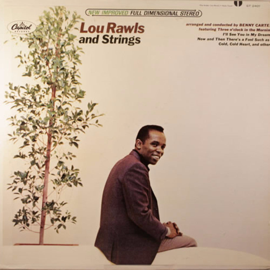 Lou Rawls ‎– Lou Rawls And Strings - Vinyl Record - Front Cover
