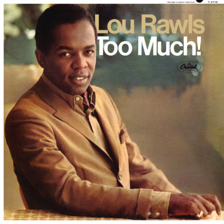 Lou Rawls ‎– Too Much! - Vinyl Record - Front Cover