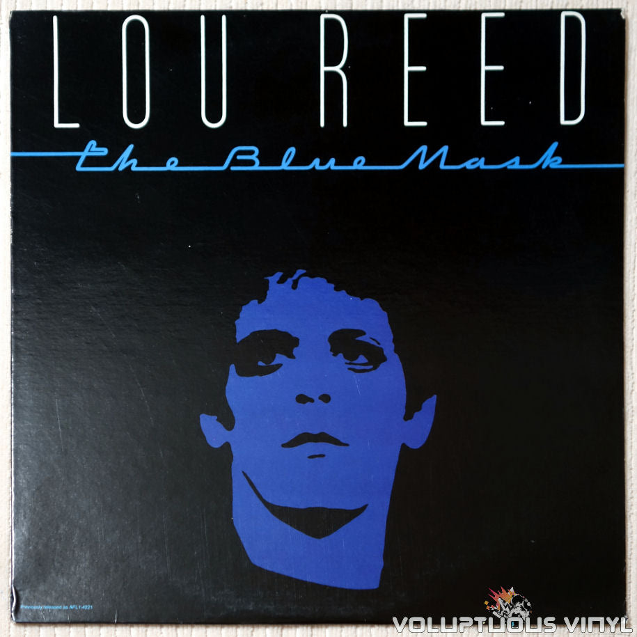 Lou Reed ‎– The Blue Mask - Vinyl Record - Front Cover