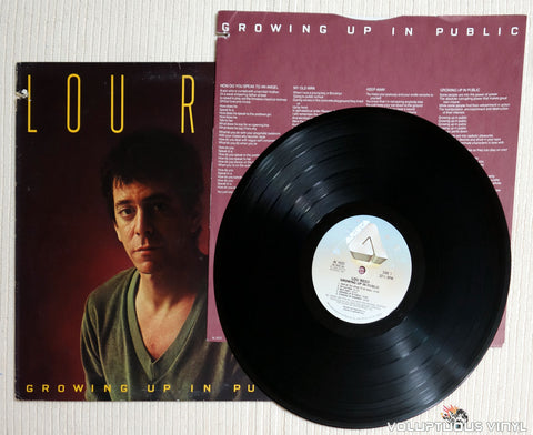 Lou Reed ‎– Growing Up In Public - Vinyl Record