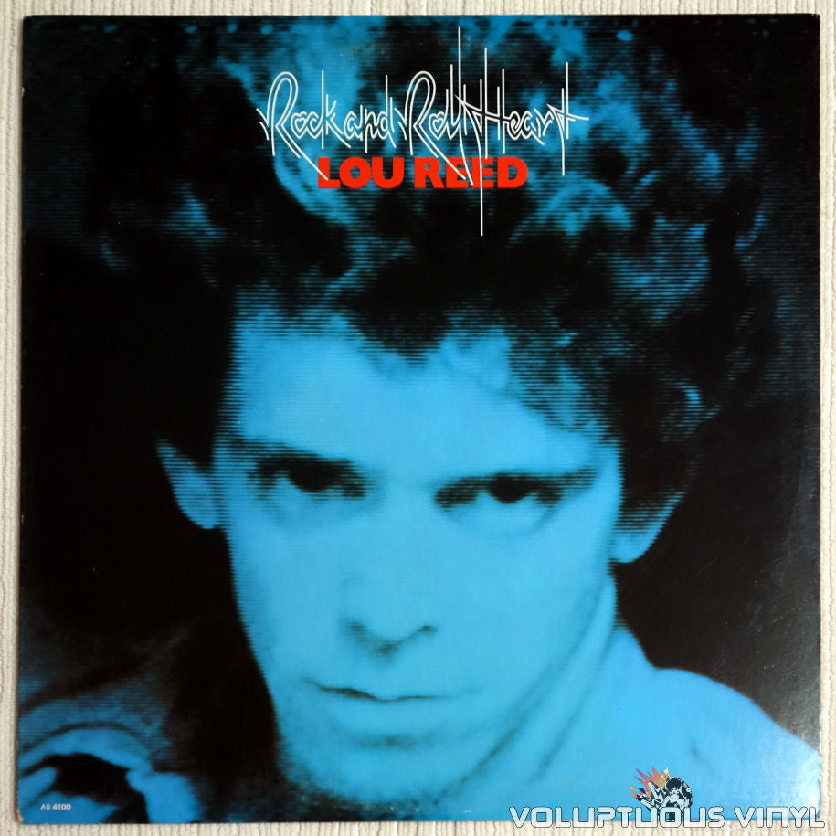 Lou Reed ‎– Rock And Roll Heart - Front Cover - Vinyl Record