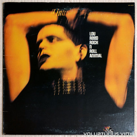 Lou Reed ‎– Rock N Roll Animal - Vinyl Record - Front Cover