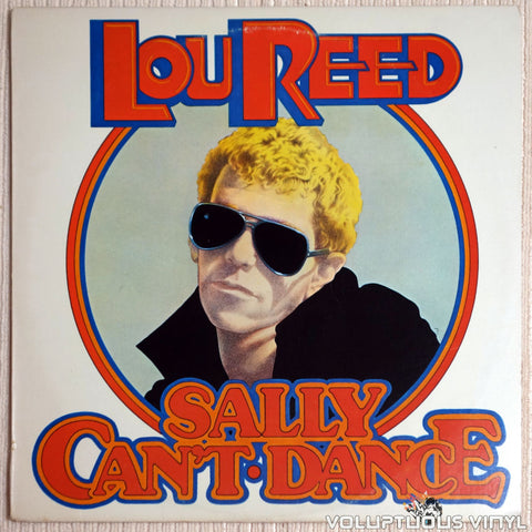 Lou Reed ‎– Sally Can't Dance - Vinyl Record - Front Cover