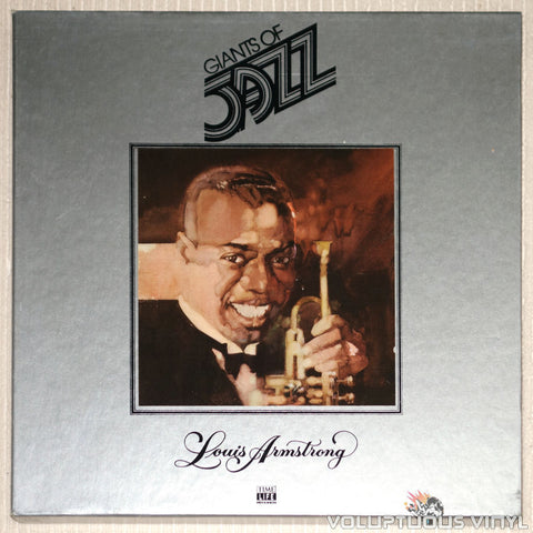 Louis Armstrong ‎– Giants Of Jazz: Louis Armstrong - Vinyl Record - Front Cover