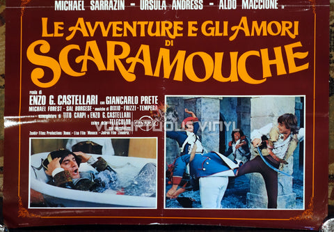 The Loves and Times of Scaramouche - Italian Poster - Ursula Andress Nude Bottom Half